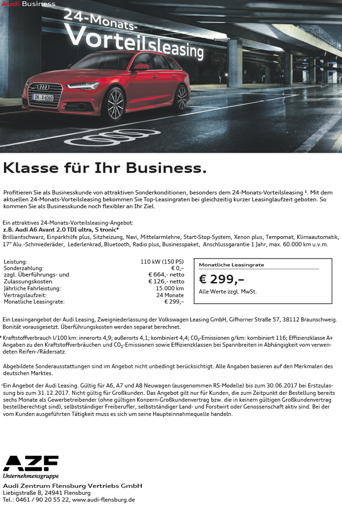Audi a6 avant leasing angebote 7